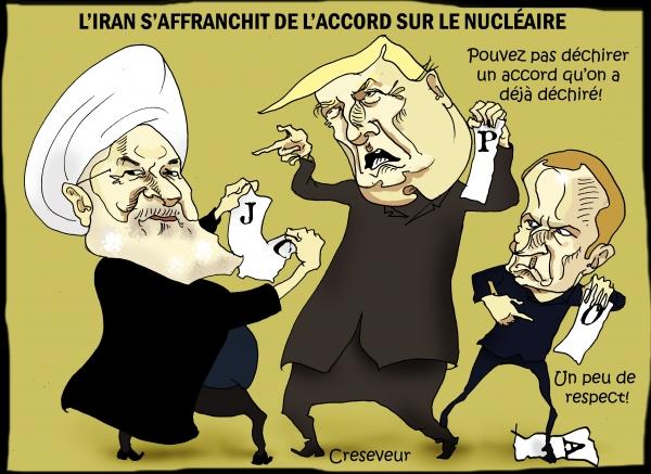Rohani s'affranchit à son tour de l'accord sur le nucléaire.jpg