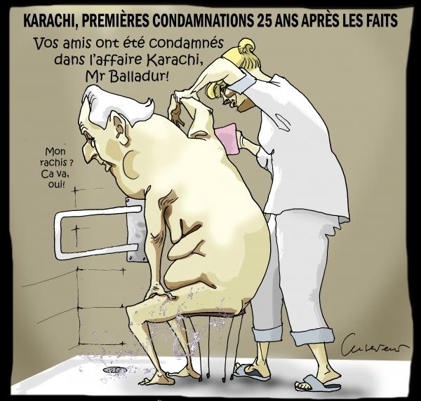 Premières condamnations dans l'affaire Karachi.JPG