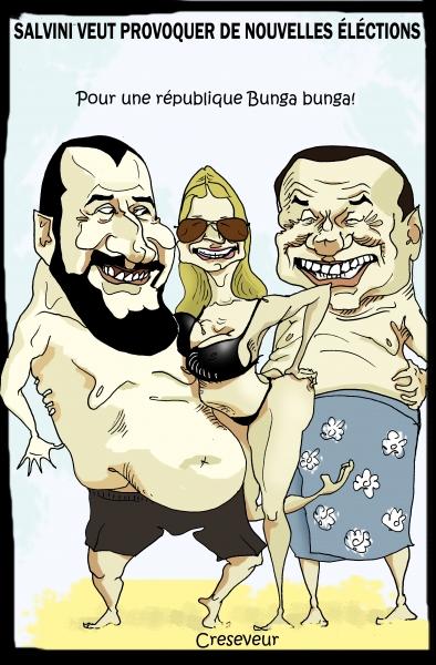 Salvini veut provoquer de nouvelles élections.JPG