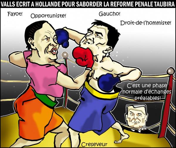 Taubira corrige Valls.JPG
