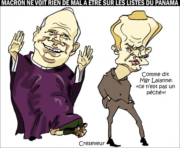 PanamaPapers pas un péché pour Macron.JPG