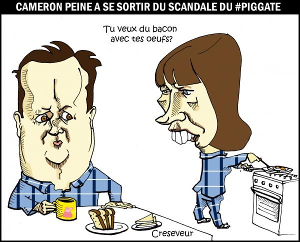 Cameron pris dans le piggate.JPG