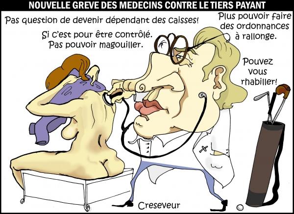 Les médecins contre le tiers payant.JPG