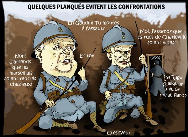 Macron à l'abri des tranchées.JPG