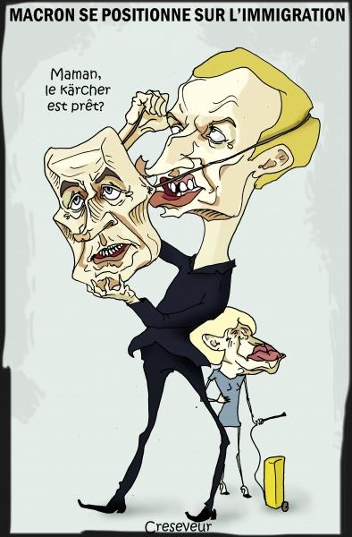 Macron se lance sur l'immigration.JPG