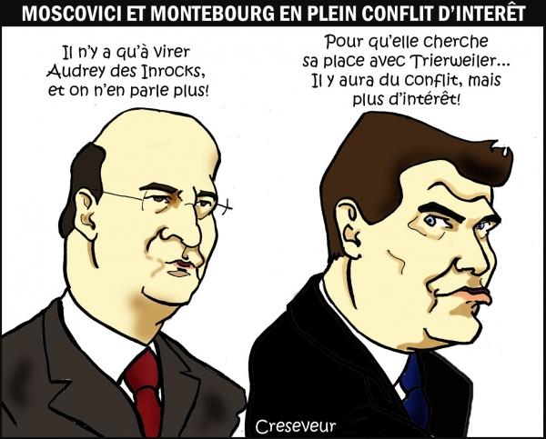 Les intérêts de Montebourg et Moscovici.jpg
