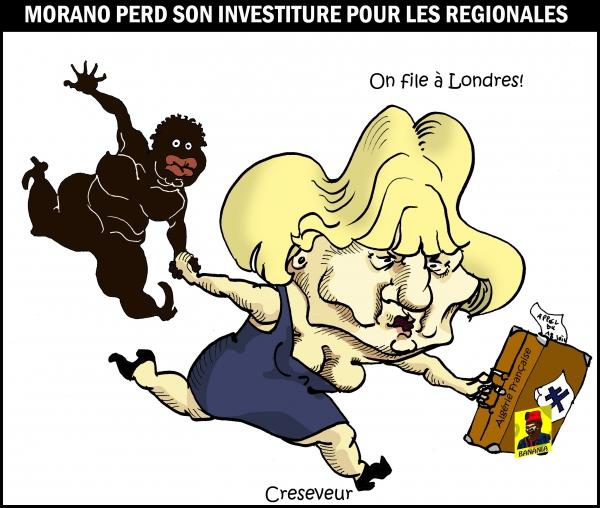 Sarkozy exclu Morano pour les régionales.JPG