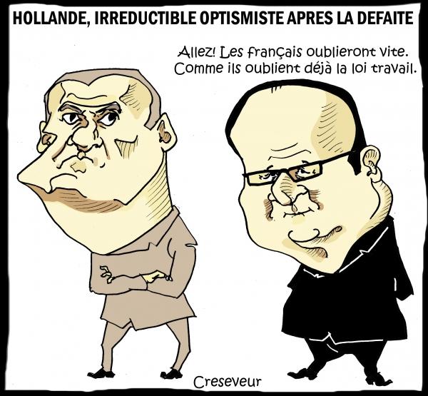 Hollande optimiste après la défaite des bleus 2.JPG