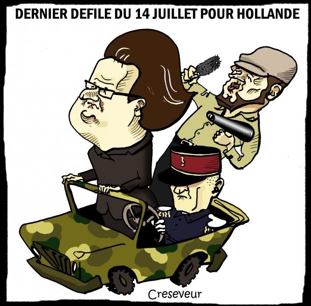 Hollande fait son dernier défilé.JPG