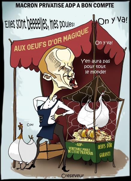 Macron privatise ADP.JPG