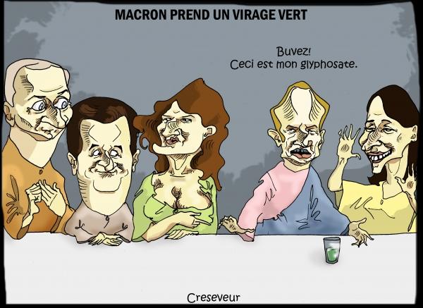 Macron et le virage vert.JPG