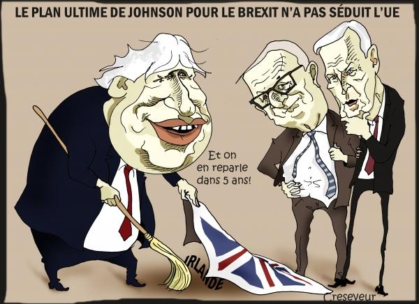 Johnson ne séduit pas l'UE avec son plan ultime.JPG