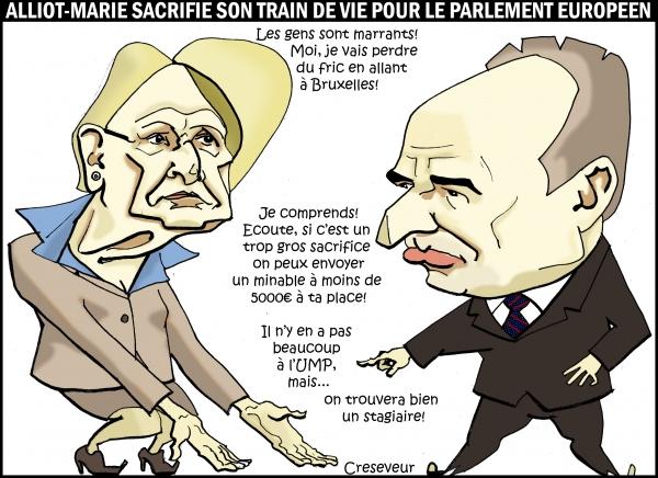 Alliot-Marie se sacrifie pour Bruxelles.JPG
