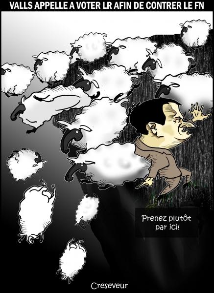 Valls appelle à voter à droite.JPG