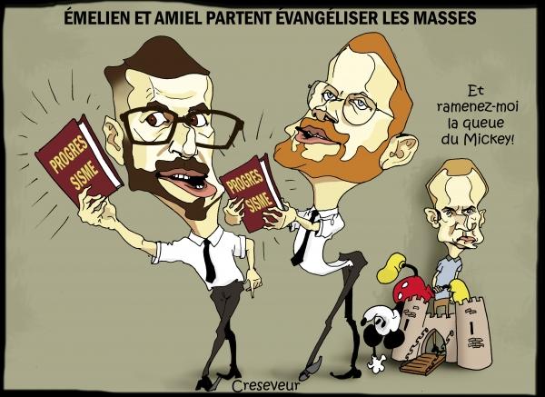 Les mormons de Macron évangélistes en campagne.JPG