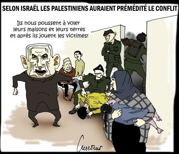 Gaza, la faute aux palestiniens.JPG