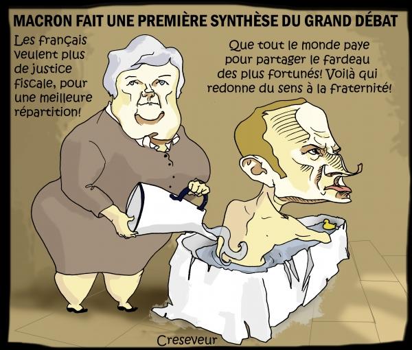 Macron a bien compris le message des Gilets Jaunes.JPG