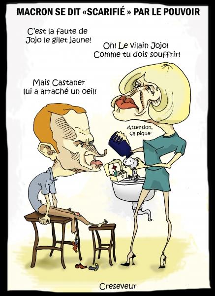Macron le scarifié.JPG